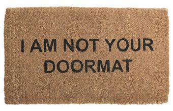 Are You A Doormat?